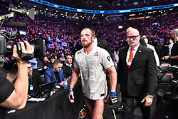 December 9, 2018 - Toronto, Ontario, Canada - ALEX OLIVEIRA against GUNNAR NELSON at UFC 231 at the Scotiabank Centre in Toronto, December 08, 2018. (Credit Image: © Igor Vidyashev/ZUMA Wire)