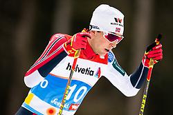 February 22, 2019 - Seefeld In Tirol, AUSTRIA - 190222 Jarl Magnus Riiber of Norway competes in men's nordic combined 10 km Individual Gundersen during the FIS Nordic World Ski Championships on February 22, 2019 in Seefeld in Tirol..Photo: Vegard Wivestad Grøtt / BILDBYRÃ…N / kod VG / 170288 (Credit Image: © Vegard Wivestad GrØTt/Bildbyran via ZUMA Press)