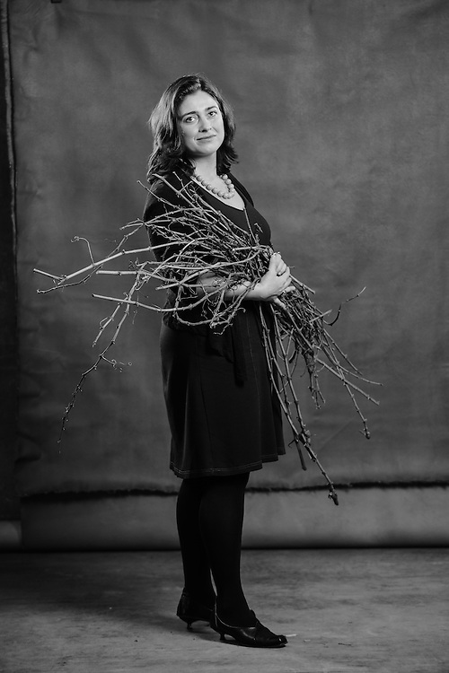 A portrait of Nina Buty, founder and president of Buty Winery in Walla Walla, for the women and wine calendar