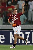 Roma 29/8/2004 Amichevole di presentazione AS Roma. Friendly match Roma - Iran 5-3. Antonio Cassano al momento del suo ingresso in campo. <br /> <br /> Foto Andrea Staccioli Graffiti