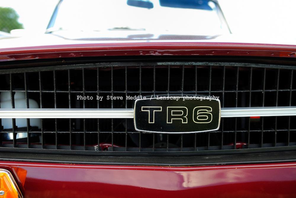 Triumph TR6 (1969-76) Badge Detail - 2010