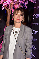 Louise Melchoir at the launch of Nobu Hotel London Shoreditch,10-50 Willow Street, London, England. 15 May 2018.