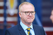 Scotland manager Alex McLeish arrives ahead of the International Friendly match between Scotland and Belgium at Hampden Park, Glasgow, United Kingdom on 7 September 2018.