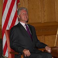 Bill Clinton visits Ferenc Gyurcsany