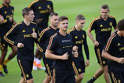 September 4, 2018 - Tubize, Belgique - Leander Dendoncker midfielder of Belgium (Credit Image: © Panoramic via ZUMA Press)