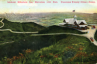 1915 Lookout Mountain Inn above Laurel Canyon