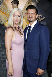 Katy Perry and Orlando Bloom at the Los Angeles premiere of Amazon's 'Carnival Row' held at the TCL Chinese Theatre in Hollywood, USA on August 21, 2019.