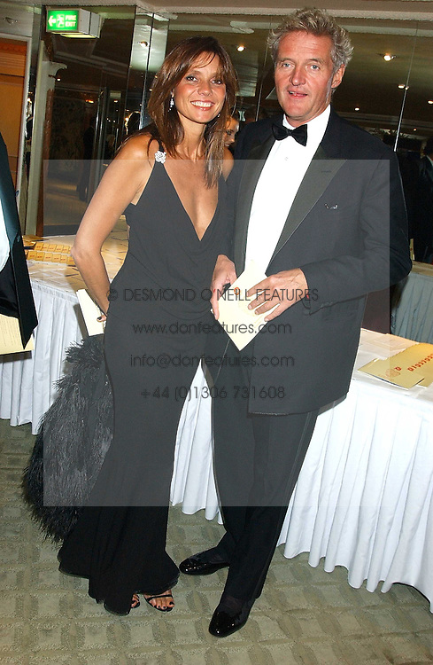 COUNT LEOPOLD & COUNTESS DEBONAIRE VON BISMARCK at the Chain of Hope 10th Anniversary Ball held at The Dorchester, Park Lane, London on 1st November 2005.<br /><br />NON EXCLUSIVE - WORLD RIGHTS