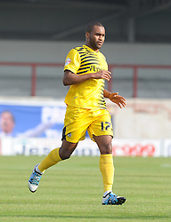 Jermaine Easter - Mandatory byline: Neil Brookman/JMP - 07966 386802 - 03/10/2015 - FOOTBALL - Globe Arena - Morecambe, England - Morecambe FC v Bristol Rovers - Sky Bet League Two