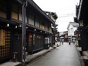 Japan, Tokyo traditional street scene