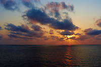 Sunrise on the M/V Explorer 2011 Spring Enrichment Voyage. Image taken with a Leica X1 (ISO 100, 24 mm, f/5.6, 1/400 sec).Raw image processed with Capture One Pro, converted to sRGB/jpg with Photoshop CS5.