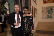 THOMAS HOUSEAGO, MUNA EL FITURI, 2019 Royal Academy Annual dinner, Piccadilly, London.  3 June 2019