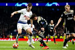 Juan Foyth of Tottenham Hotspur takes on Nicolas Tagliafico of Ajax - Mandatory by-line: Robbie Stephenson/JMP - 30/04/2019 - FOOTBALL - Tottenham Hotspur Stadium - London, England - Tottenham Hotspur v Ajax - UEFA Champions League Semi-Final 1st Leg