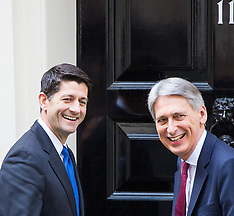 2017-04-19 Chancellor Philip Hammond welcomes American Speaker Paul Ryan to 11 Downing Street