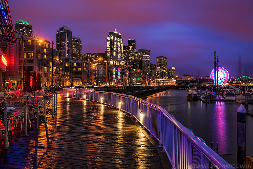 Seattle Waterfront after the Rain