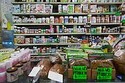 Herb and spice store, Vallarta Food Tours, El Pitillal, Puerto Vallarta, Jalisco, Mexico