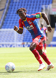"""Crystal Palace's Wilfried Zaha during the pre-season friendly match at the Madejski Stadium, Reading. PRESS ASSOCIATION Photo. Picture date: Saturday July 28, 2018. See PA story SOCCER Reading. Photo credit should read: Mark Kerton/PA Wire. RESTRICTIONS: EDITORIAL USE ONLY No use with unauthorised audio, video, data, fixture lists, club/league logos or """"live"""" services. Online in-match use limited to 75 images, no video emulation. No use in betting, games or single club/league/player publications."""