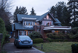 A house owned by Huawei Technologies chief financial officer Meng Wanzhou and her husband, is seen undergoing renovations in Vancouver, BC, Canada on Monday, December 10, 2018. The United States is showing its hostility toward Chinese tech giant Huawei by speculating one of its senior executives has avoided travelling there to dodge charges, a lawyer argued Monday at B.C. Supreme Court. Photo by Darryl Dyck/CP/ABACAPRESS.COM