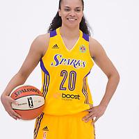 Los Angeles Sparks guard Kristi Toliver (20)