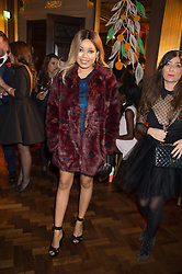 DIONNE BROMFIELD at the Cointreau Creative Crew Launch at the Cafe Royal, Regent's Street, London on 27th October 2015.