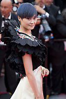 Singer Li Yuchun at the Opening Ceremony and Everybody Knows (Todos Lo Saben) gala screening at the 71st Cannes Film Festival Tuesday 8th May 2018, Cannes, France. Photo credit: Doreen Kennedy