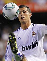 20-04-2011 VOETBAL: COPA DEL REY FC BARCELONA - REAL MADRID: VALENCIA<br /> Cristiano Ronaldo<br /> **NETHERLANDS ONLY**<br /> ©2011-FRH/EXPA/ Alterphotos/ Acero