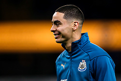 Miguel Almiron of Newcastle United - Mandatory by-line: Robbie Stephenson/JMP - 11/02/2019 - FOOTBALL - Molineux - Wolverhampton, England - Wolverhampton Wanderers v Newcastle United - Premier League