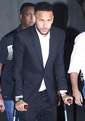 Brazilian soccer star Neymar spent about five hours at a police station to undergo questioning about rape allegations against him, one of the final steps in the investigation. 13 Jun 2019 Pictured: Neymar Jr. Photo credit: TRF Images /MEGA TheMegaAgency.com +1 888 505 6342