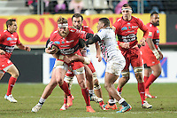 Gerhard Oslo - 28.12.2014 - Stade Francais / Racing Club Toulon - 14eme journee de Top 14<br />Photo : Aurelien Meunier / Icon Sport