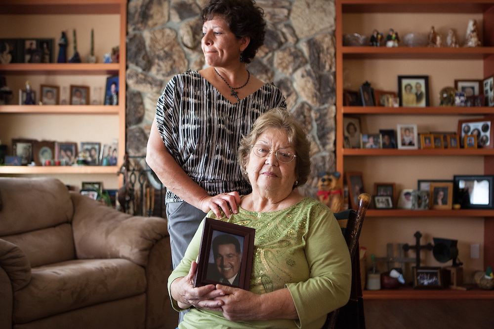 Tina and Rosalie Cordova, Trinty test downwinders for The Wall Street Journal