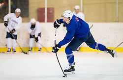 Miha Verlic during practice session of Slovenian Ice Hockey National Team at training camp, on February 8th, 2016 in Ledna dvorana, Bled, Slovenia. Photo by Vid Ponikvar / Sportida