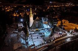 THEMENBILD - die beleuchtete Muttergottes von Fatima, aufgenommen am 17. Januar 2019 in Zakopane, Polen // the illuminated <br /> sanctuary Our Lady of Fatima, Zakopane, Poland on 2019/01/17. EXPA Pictures © 2019, PhotoCredit: EXPA/ JFK