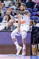 Real Madrid's Jeffery Taylor during Turkish Airlines Euroleague match between Real Madrid and Crvena Zvezda Mts Belgrade at Wizink Center in Madrid, Spain. March 10, 2017. (ALTERPHOTOS/BorjaB.Hojas)
