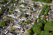 Nederland, Limburg, Gemeente Heerlen, 27-05-2013; mijnwerkerskolonie in de wijk Rennemig-Beersdal. Rijksbeschermd gezicht Heerlen - Beersdal.<br /> Miners colony, housing project.<br /> luchtfoto (toeslag op standaardtarieven);<br /> aerial photo (additional fee required);<br /> copyright foto/photo Siebe Swart.