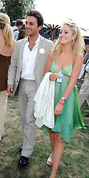 THOMAS VAN STRAUBENZEE and LADY MELISSA PERCY  at the Cartier International Polo at Guards Polo Club, Windsor Great Park on 27th July 2008.<br /> <br /> NON EXCLUSIVE - WORLD RIGHTS