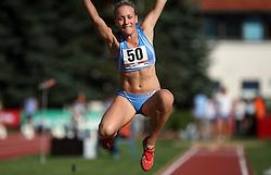 Maja Bratkic at Athletic National Championship of Slovenia, on July 19, 2008, in Stadium Poljane, Maribor, Slovenia. (Photo by Vid Ponikvar / Sportal Images).