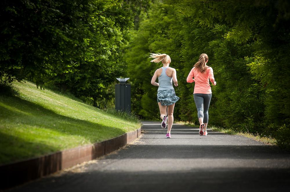 Nike girls love to run photoshoot in Amsterdam, Netherlands