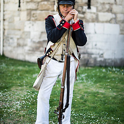 Battle of Waterloo re-enactors 200th Anniversary