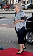 AMSTERDAM, 16-08-2020, Koninklijk Concertgebouw<br /> <br /> Prinses Beatrix tijdens het concert van het European Union Youth Orchestra in het Koninklijk Concertgebouw in Amsterdam.<br /> <br /> Princess Beatrix during the concert of the European Union Youth Orchestra in the Royal Concertgebouw in Amsterdam.