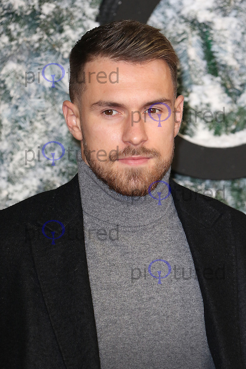 Aaron Ramsey, Collateral Beauty - European film premiere, Leicester Square, London UK, 15 December 2016, Photo by Richard Goldschmidt