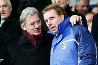 MILAN MANDERIC and HARRY REDKNAPP before the game<br /> <br /> PORTSMOUTH V WEST HAM PREMIERSHIP 26.12.05 <br /> <br /> PHOTO SEAN RYAN FOTOSPORTS INTERNATIONAL