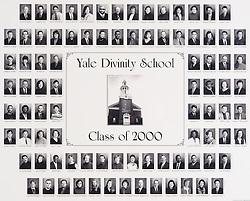 2000 Yale Divinity School Senior Portrait Class Group Photograph