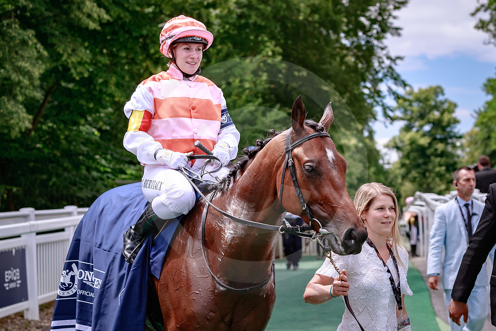 Ducale Di Maremma (Alice Bertiaux) wins Championnat du Monde Longines Fegentri in Chantilly, France 17/06/2018, photo: Zuzanna Lupa