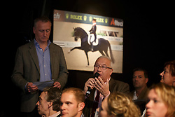 Morel Bernard, (FRA), Davison Richard, (GBR)<br /> Greatest Dressage Horses Ever, Valegro<br /> Global Dressage Forum<br /> Academy Bartels - Hooge Mierden 2015<br /> © Hippo Foto - Dirk Caremans<br /> 27/10/15