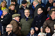 TV personality Frank Skinner in the crowd during the Premier League match between West Bromwich Albion and Burnley at The Hawthorns, West Bromwich, England on 31 March 2018. Picture by Dennis Goodwin.