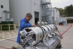 Jun 3, 2017 - U.S. - The ampule doors on the sounding rocket payload are open during testing at the Wallops Flight Facility in late May. The launch from NASA's Wallops Flight Facility of a Terrier-Improved Malemute sounding rocket scheduled for June 3 has been rescheduled for Sunday, June 4. While the winds and skies were the issues the previous two launch attempts, this morning's attempt was scrubbed because of boats in the second stage impact area. The NASA Visitor Center at Wallops will open at 3:30 a.m. on launch day for viewing the flight. (Credit Image: ? NASA/via ZUMA Wire/ZUMAPRESS.com)