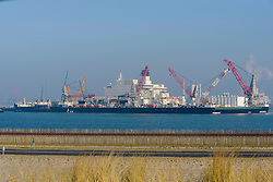 Pioneering Spirit, 9593505, pijpenlegger, Maasvlakte, Rotterdam haven, Netherlands