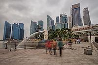 Merlion Park, Downtown Singapore