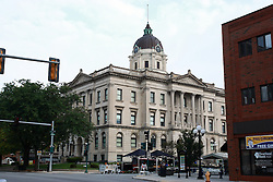 13 June 2009: Bloomington Illinois, the McLean County Museum of History was once the McLean County Courthouse.  McLean County was a part of Abraham Lincoln's circuit.