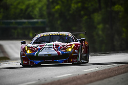 June 4, 2017 - Le Mans, France - 51 AF CORSE (ITA) FERRARI 488 GTE LMGTE PRO JAMES CALADO (GBR) ALESSANDRO PIER GUIDI (ITA) LUCAS DI GRASSI  (Credit Image: © Panoramic via ZUMA Press)